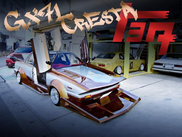 SCISSOR DOOR CUSTOM KAIDO-RACER GX71 CRESTA