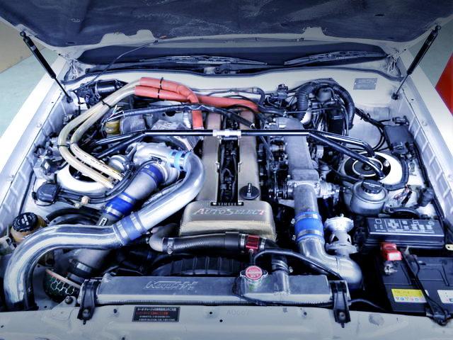 1JZ-GTE SINGLE TURBO ENGINE FOR NON-VVTi