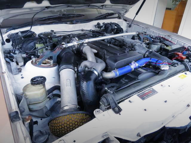 1JZ-GTE TWINTURBO ENGINE