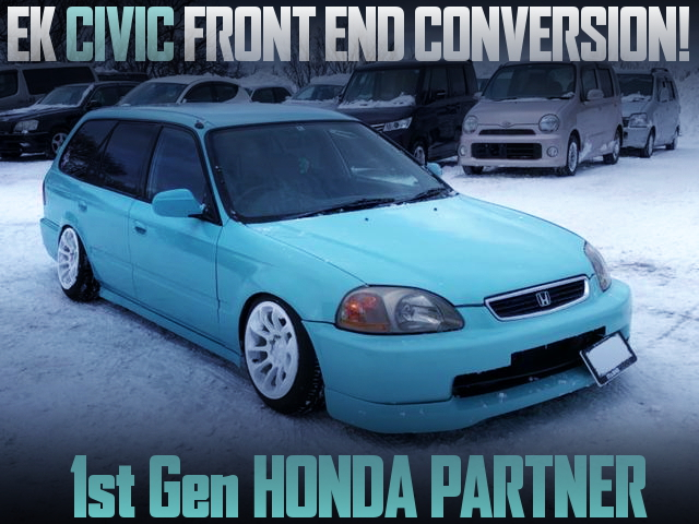 EK CIVIC FRONT END CONVERSION HONDA PARTNER