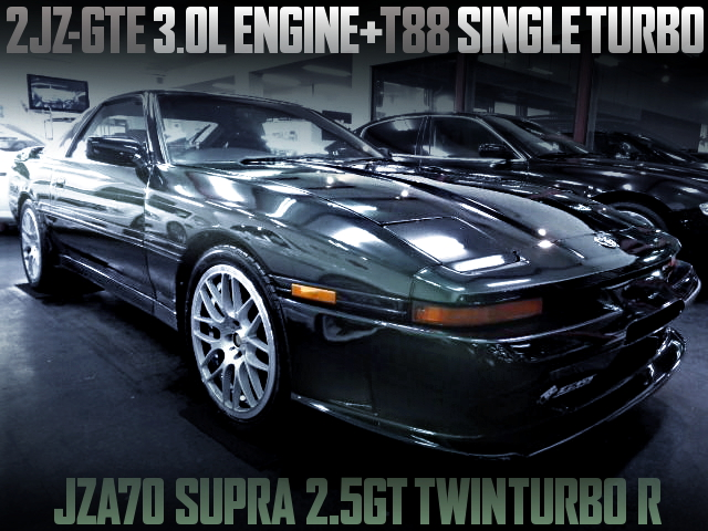 2JZ-GTE WITH T88 SINGLE TURBO FOR SUPRA MK3