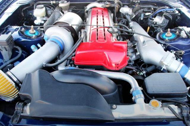 VVTi 2JZ-GTE ENGINE WITH SINGLE TURBO