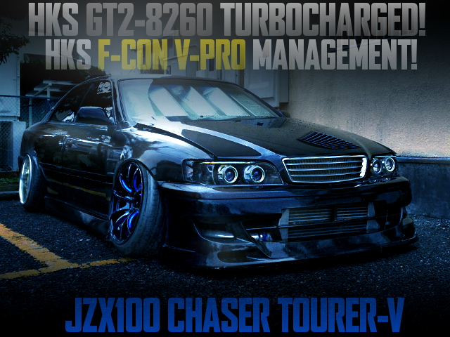 GT2-8260 TURBO WITH V-PRO AT JZX100 CHASER TOURER V