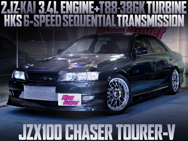 2JZ 3400cc T88-38GK TURBO WITH 6MT FOR JZX100 CHASER