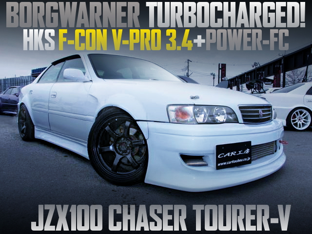 BORGWARNER TURBO AND WIDEBODY FOR JZX100 CHASER