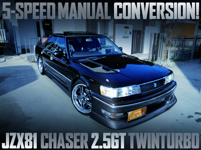 5MT CONVERSION JZX81 CHASER 25GT TWINTURBO