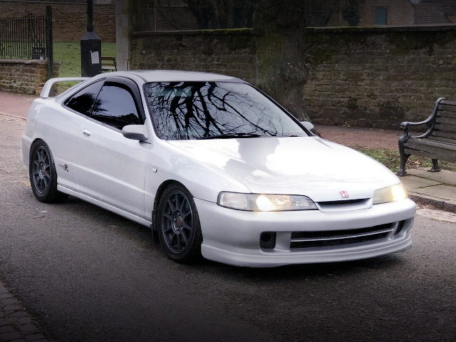 FRONT EXTERIOR DC2 INTEGRA TYPE-R SILVER