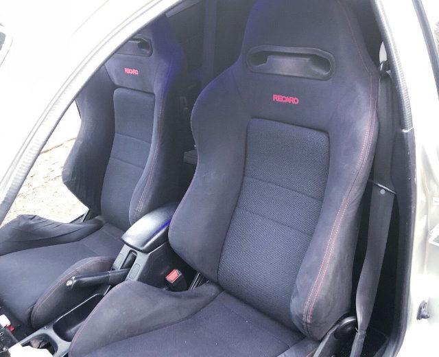 RECARO SEATS BLACK