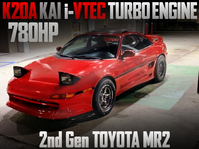 K20A i-VTEC TURBO ENGINE 2nd Gen MR2
