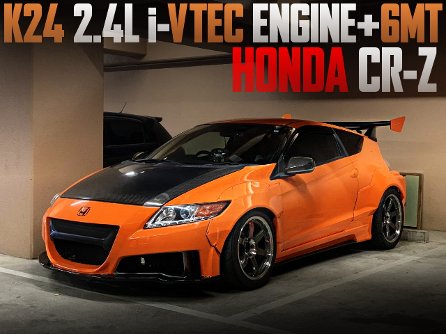 K24 iVTEC ENGINE WITH 6MT FOR HONDA CRZ ORANGE