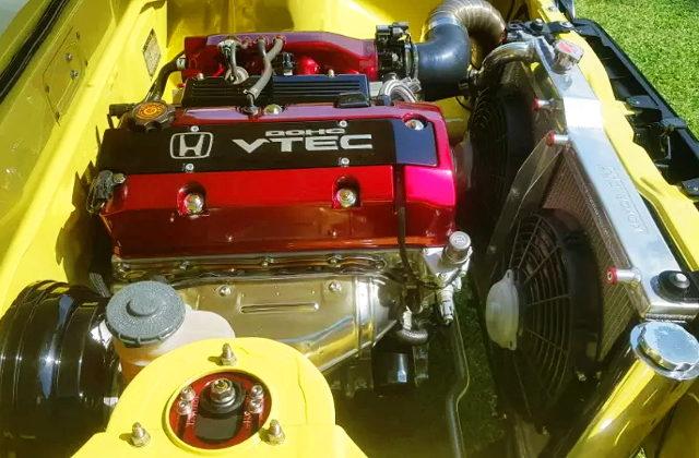 VTEC LOGO FOR F20C ENGINE