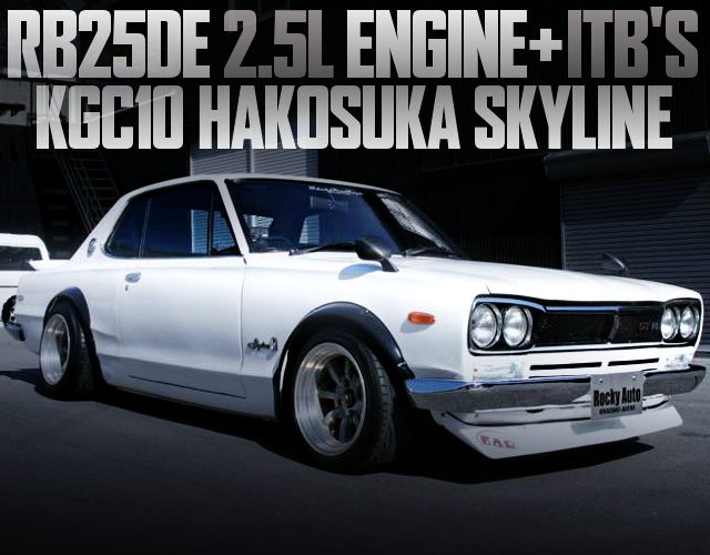 RB25DE WITH ITB FOR KGC10 HAKOSUKA 2-SOOR