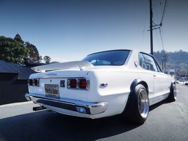 REAR EXTERIOR KGC10 HAKOSUKA 2-DOOR