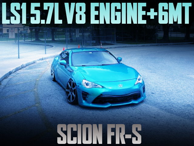 LS1 5700cc V8 ENGINE WITH 6MT FOR SCION FR-S