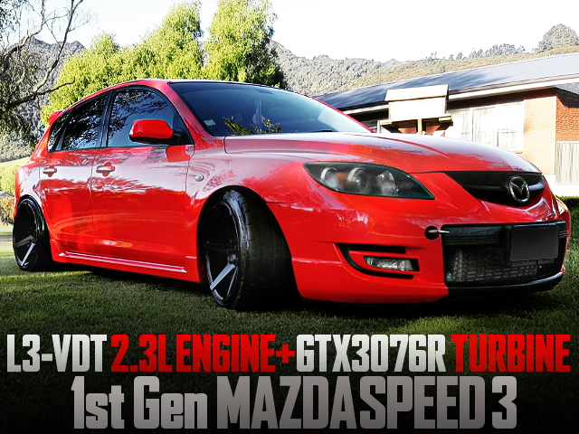 L3-VDT with GTX3076R TURBO OF 1st Gen MAZDASPEED3