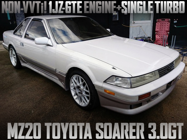 1JZ-GTE SINGLE TURBO ENGINE SWAP MZ20 SOARER