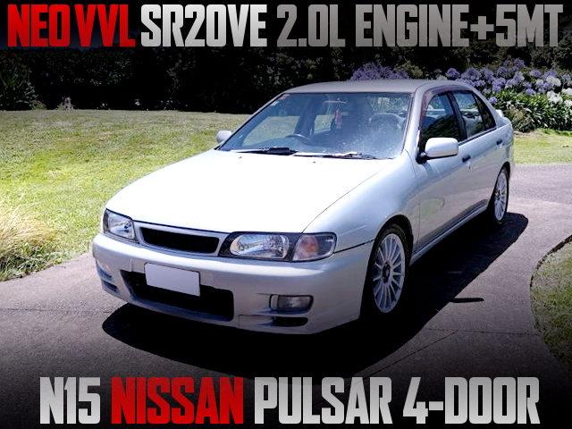 SR20VE ENGINE SWAP N15 PULSAR SEDAN