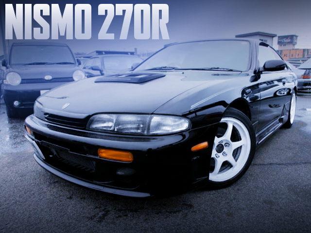 NISMO 10th ANNIVERSARY MODEL NISMO 270R
