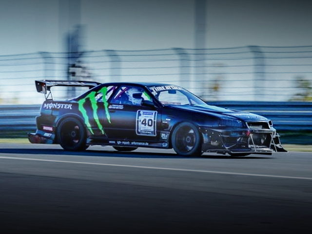 MONSTER ENERGY R32 SKYLINE GT-R