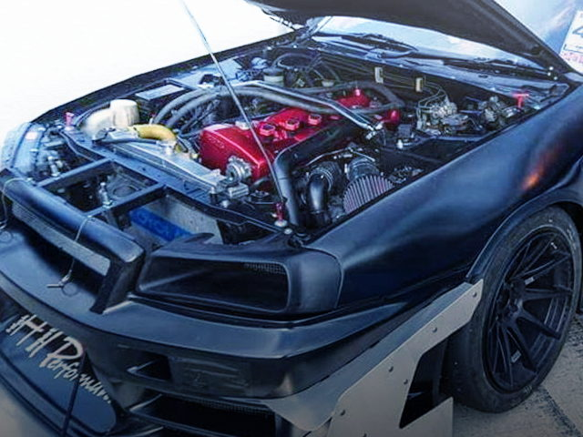 RB30DETT 3000cc TWIN TURBO ENGINE