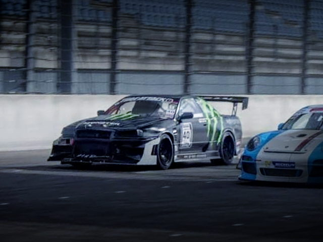 TRACK RACE FOR MONSTER ENERGY R32 GTR
