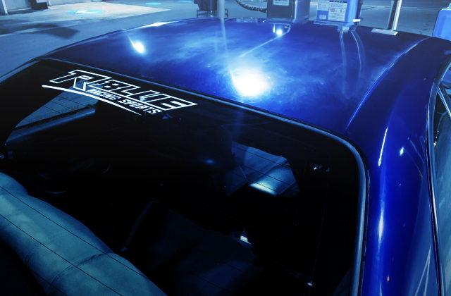 R-BLUE RAING LOGO
