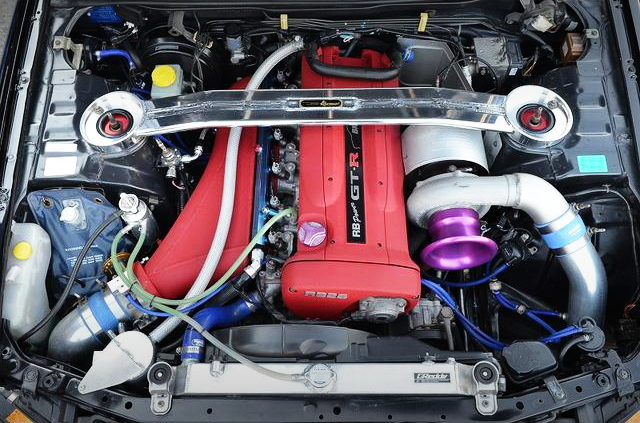 RB26 2800cc WITH T88-38GK SINGLE TURBO