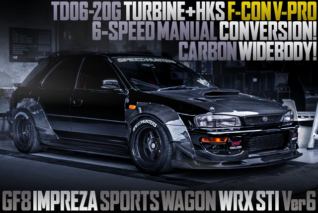 CARBON WIDEBODY GF8 IMPREZA WAGON WRX STI