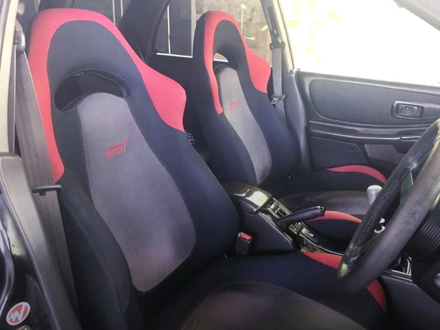 SUBARU STI SEATS