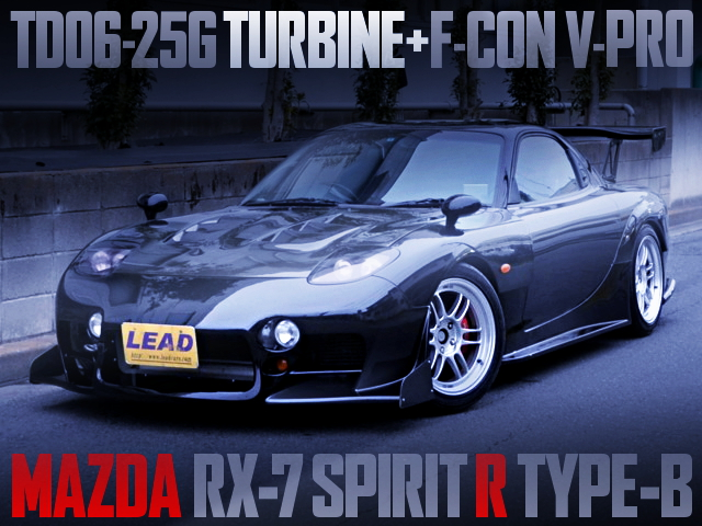 TD06-25G TURBO MAZDA RX7 SPIRIT-R TYPE-B