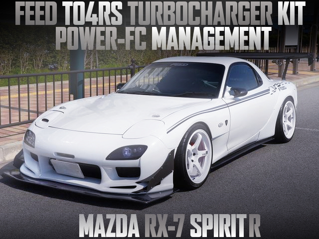 FEED TO4RS TURBO ON 13B-REW FOR RX7 SPIRIT-R