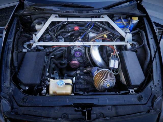 13B-MSP ROTARY ENGINE WITH TURBO KIT