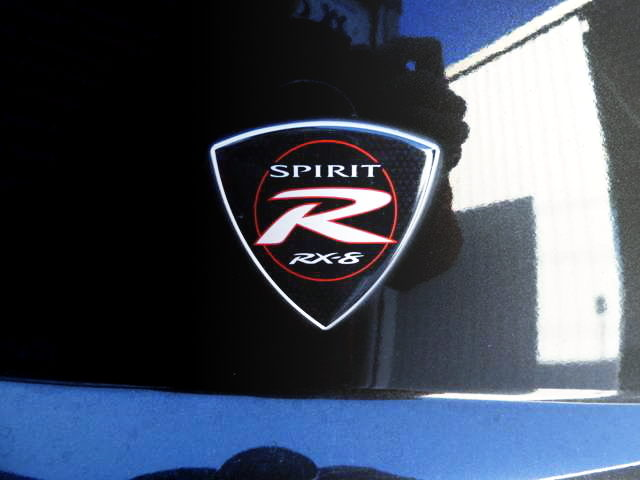RX-8 SPIRIT-R EMBLEM