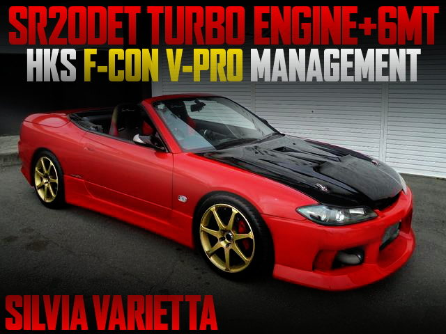 SR20 TURBO ENGINE WITH 6MT FOR S15 SILVIA VARIETTA