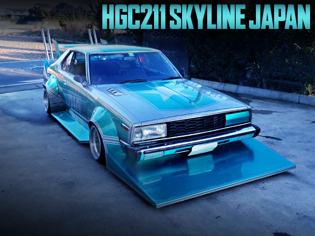 KAIDO RACER HGC211 SKYLINE JAPAN 2-DOOR