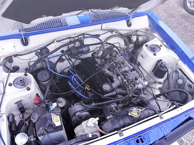 A12 1200cc ENGINE WITH CARBURETOR