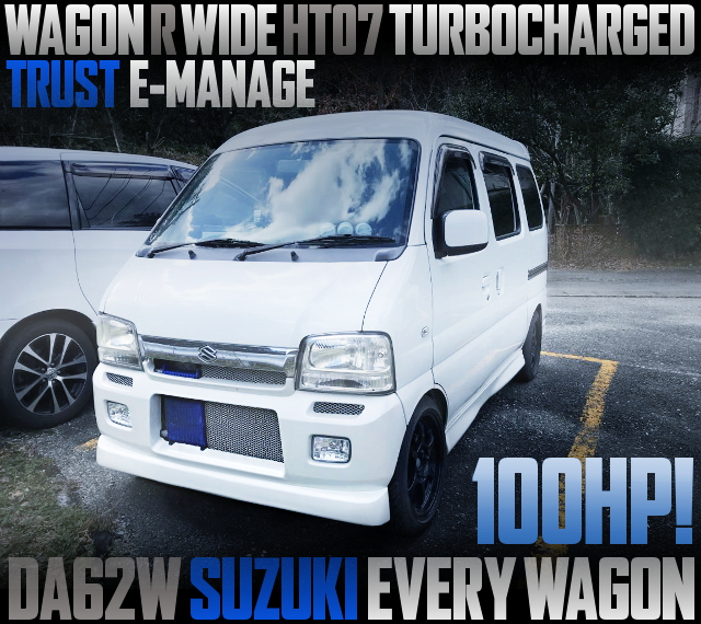 WAGON-R WIDE HT07 TURBOCHARGED DA62W EVERY WAGON