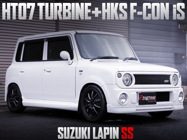 HT07 TURBO WITH HKS F-CON iS FOR HE21S LAPIN SS