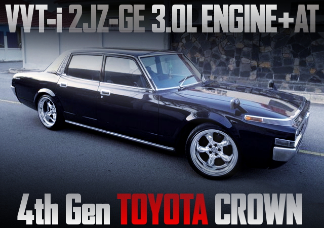 2JZ-GE 3000cc ENGINE SWAP 4th Gen CROWN 4-DOOR SEDAN