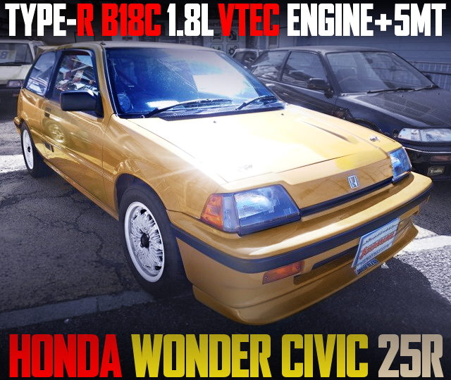 B18C VTEC ENGINE SWAP WONDER CIVIC HATCH