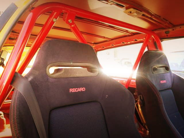 RECARO SEATS BLACK COLOR