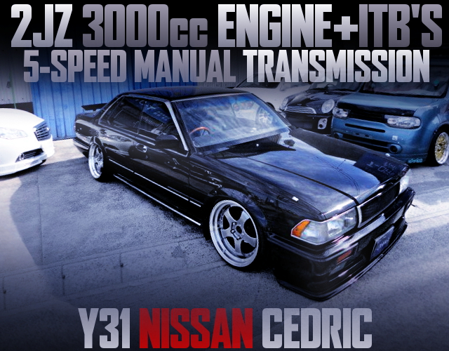 2JZ WITH ITBS ENGINE FOR Y31 CEDRIC