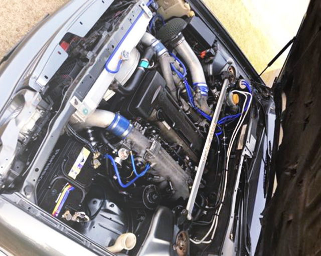2JZ-GTE TWIN TURBO ENGING