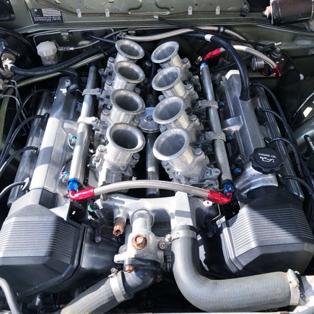 1UZ-FE 4000cc V8 ENGINE WITH ITB