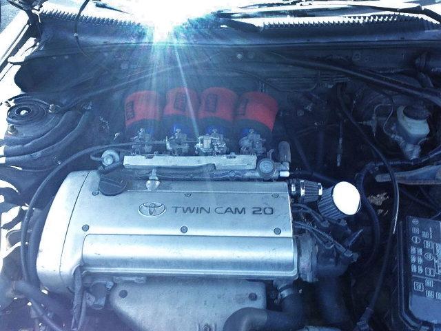 20VALVE 4AG E1600cc ENGINE