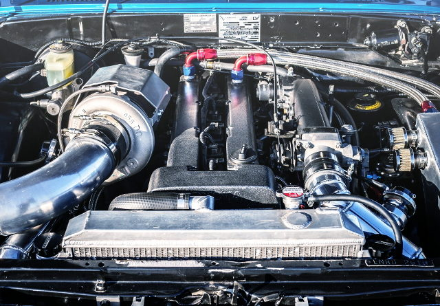 NON-VVTi 1JZ-GTE ENGINE WITH BW SINGLE TURBO