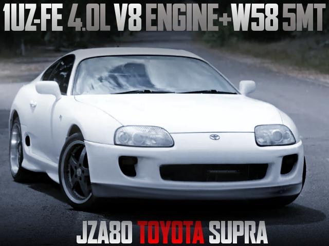 1UZ 4000cc V8 ENGINE SWAP JZA80 SUPRA