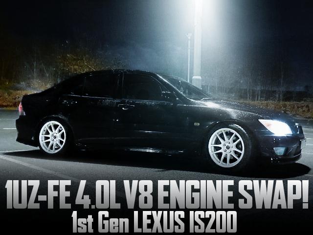 1UZ-FE ENGINE SWAP LEXUS IS200