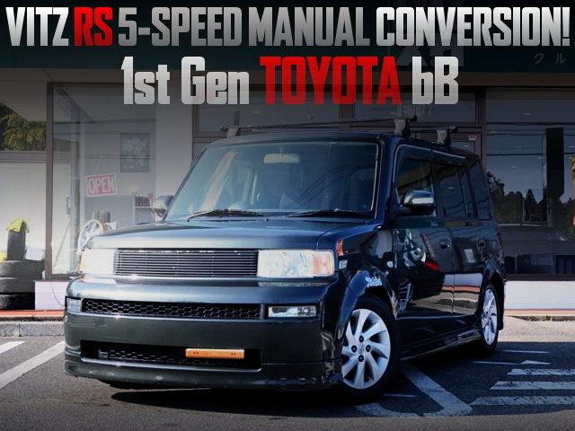 5MT CONVERSION 1NZ 1500cc ENGINE MODEL OF TOYOTA bB