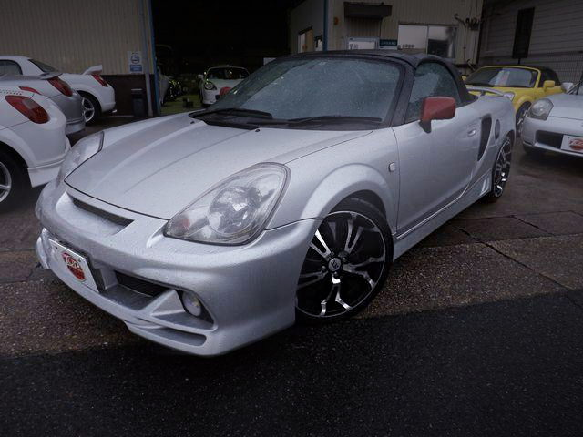 FRONT EXTERIOR TOYOTA MR-S SILVER